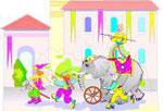 lastenjuhlat sirkus