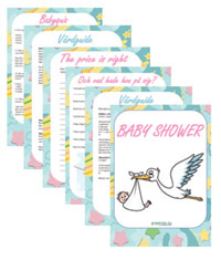 Färdiga tips till babyshowern