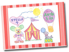 inbjudan cirkuskalas