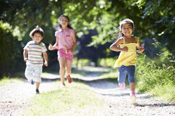 tisppromenad för barn