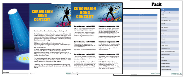 Eurovision frågesport
