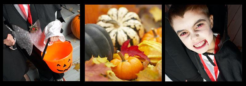 Halloweenfest lekar