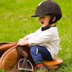 barnkalas häst