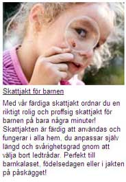 skattjakt for barn