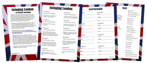 Swinging London brittiskt musikquiz