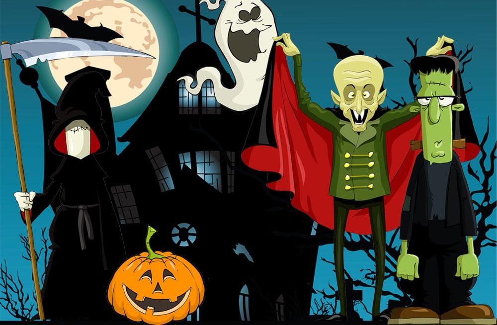 halloweenfest för barn