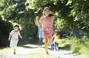 sommarfest barn