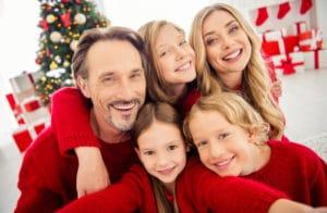 jullekar till familjen